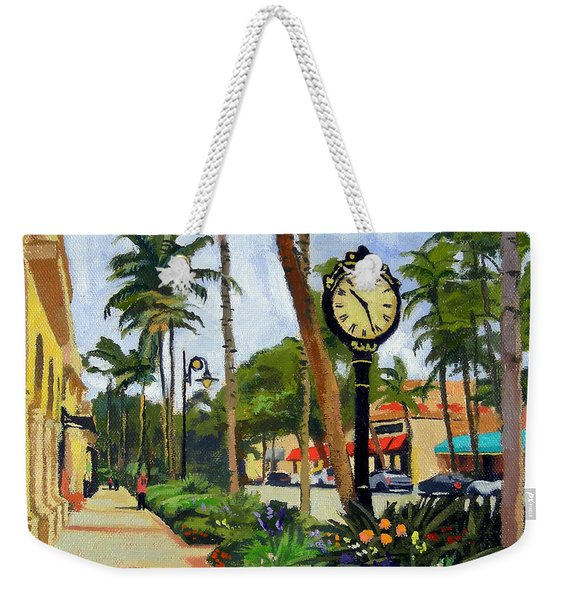 5th Avenue Naples Florida Weekender Tote Bag