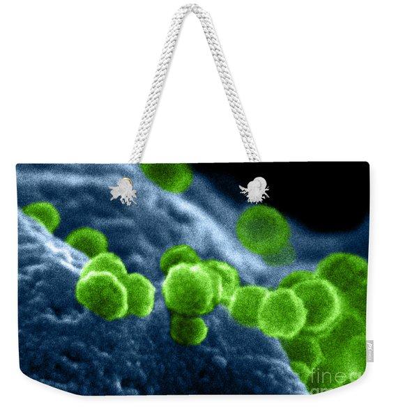 Aids Virus Weekender Tote Bag