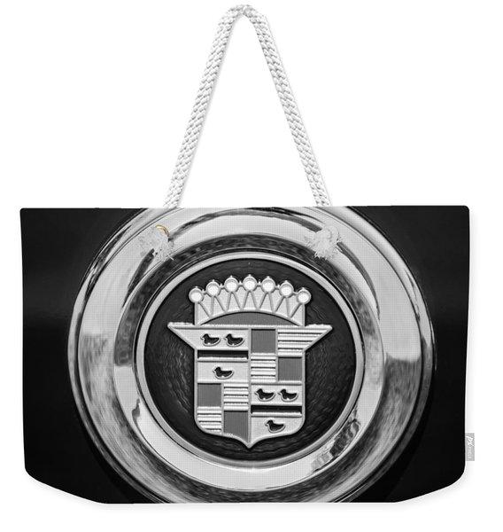 Cadillac Emblem Weekender Tote Bag