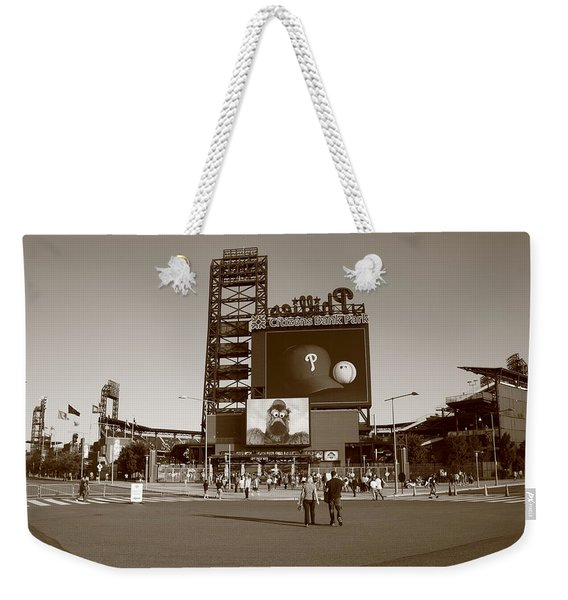 Citizens Bank Park - Philadelphia Phillies Weekender Tote Bag