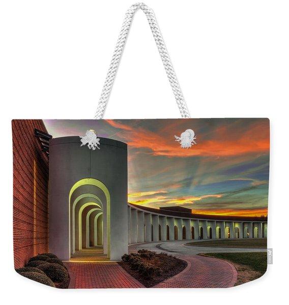 Ferguson Center For The Arts Weekender Tote Bag