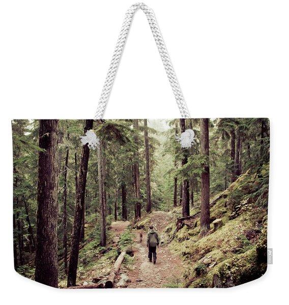Harrison-lillooet Road Trip Weekender Tote Bag