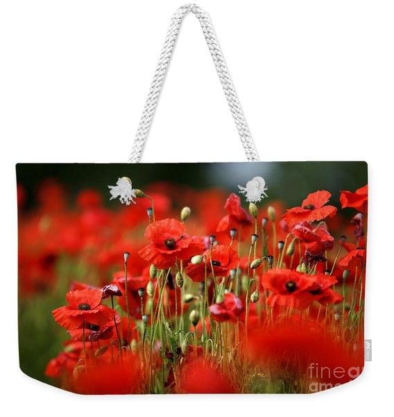 Poppy Dream Weekender Tote Bag