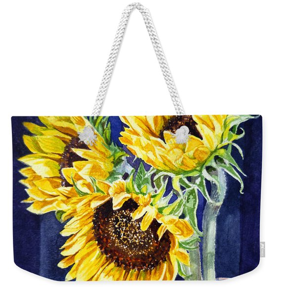 Sunflowers Weekender Tote Bag