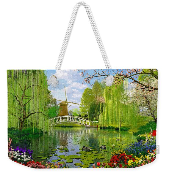 Windmill Lake Weekender Tote Bag