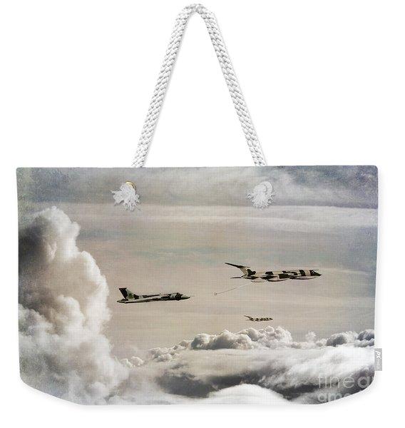 607 Refuelling Weekender Tote Bag