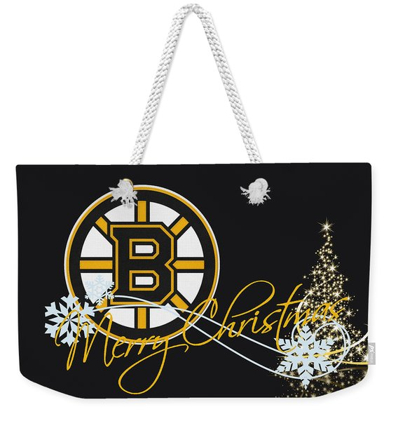 Boston Bruins Weekender Tote Bag