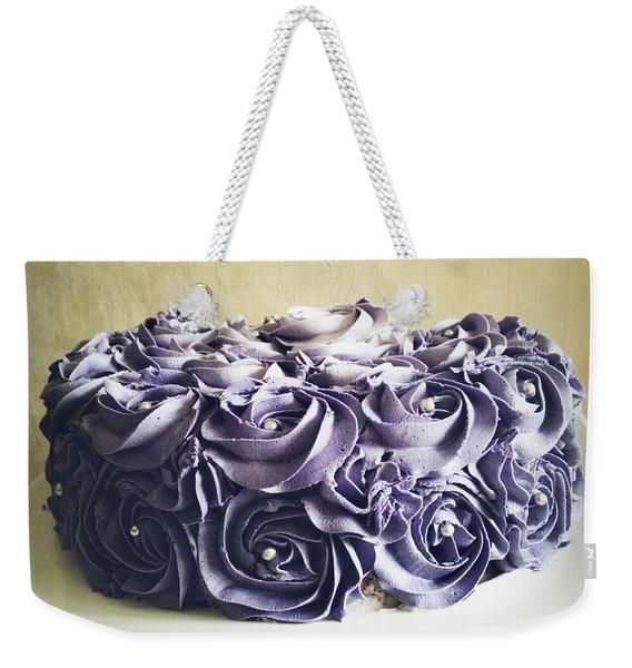 Cake Weekender Tote Bag