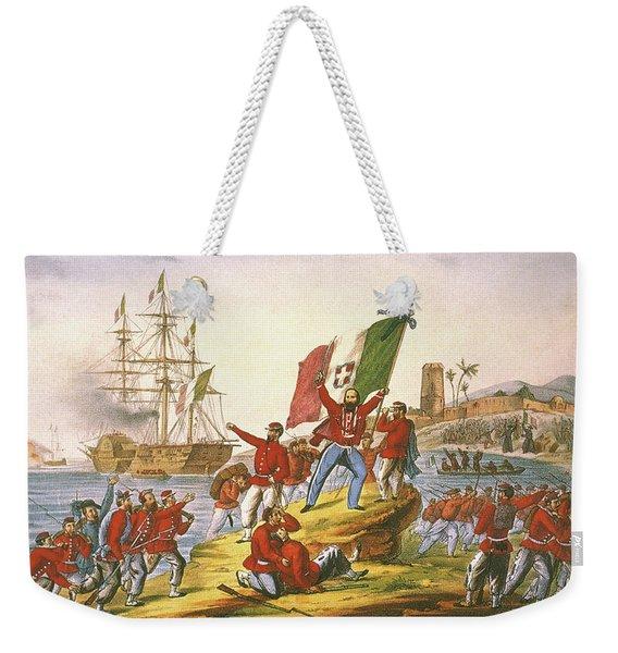 Giuseppe Garibaldi (1807-1882) Weekender Tote Bag