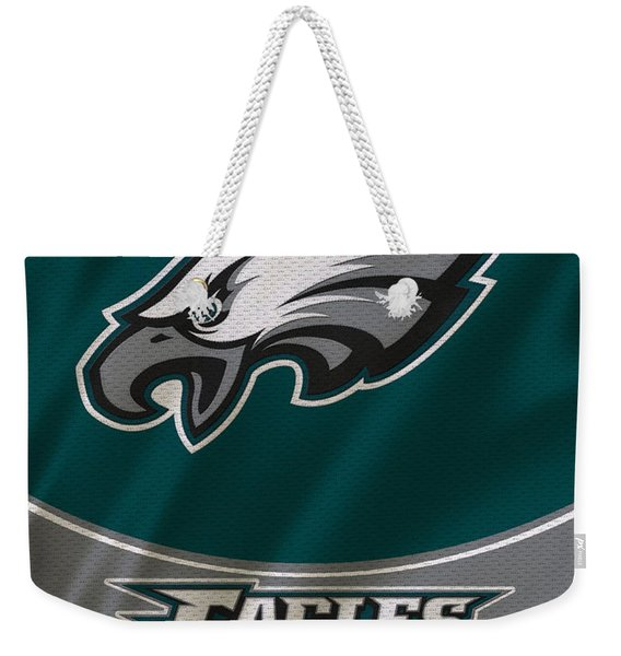 Philadelphia Eagles Uniform Weekender Tote Bag