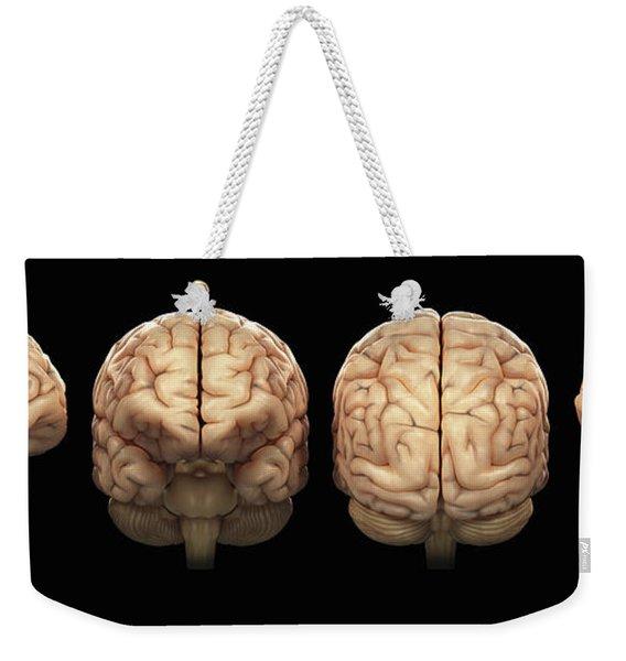 The Human Brain Weekender Tote Bag