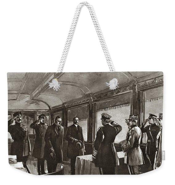World War I Armistice Weekender Tote Bag