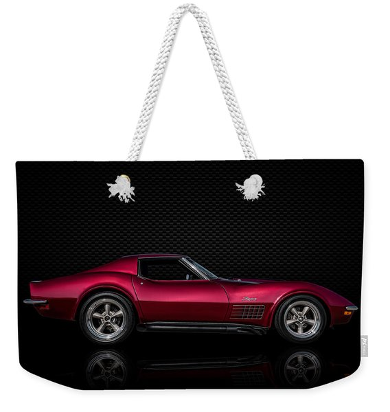 '71 Red Weekender Tote Bag