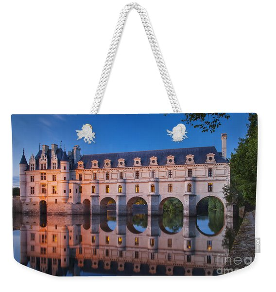 Weekender Tote Bag featuring the photograph Chateau Chenonceau by Brian Jannsen