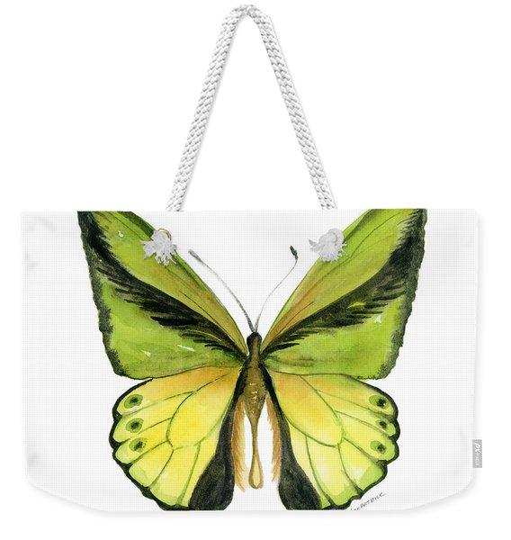 8 Goliath Birdwing Butterfly Weekender Tote Bag
