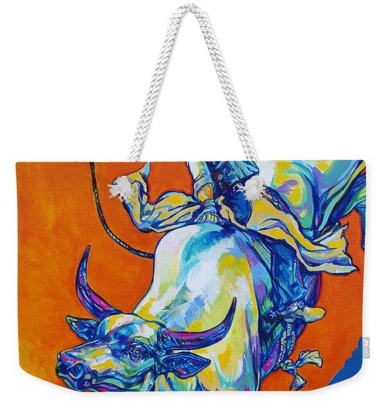 8 Second Insanity Weekender Tote Bag