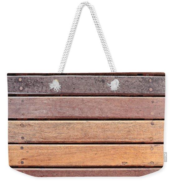 Wood Background Weekender Tote Bag