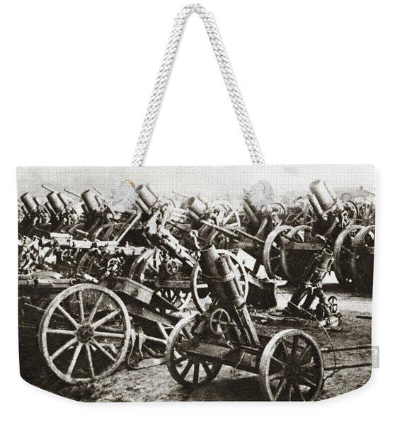World War I Surrender Weekender Tote Bag