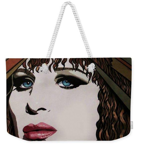 80's Barbra Weekender Tote Bag