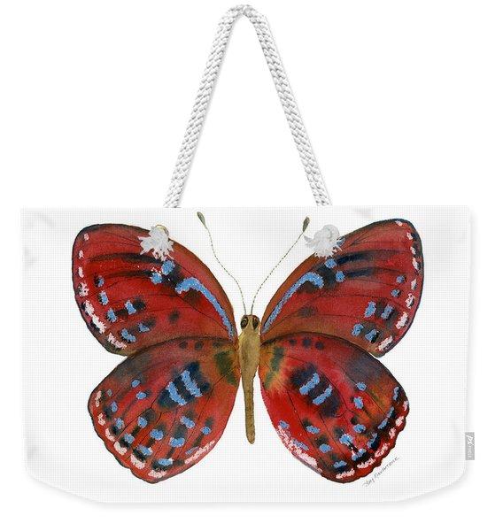 81 Paralaxita Butterfly Weekender Tote Bag
