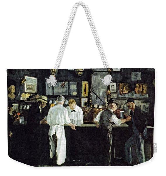 Mcsorleys Bar New York Weekender Tote Bag