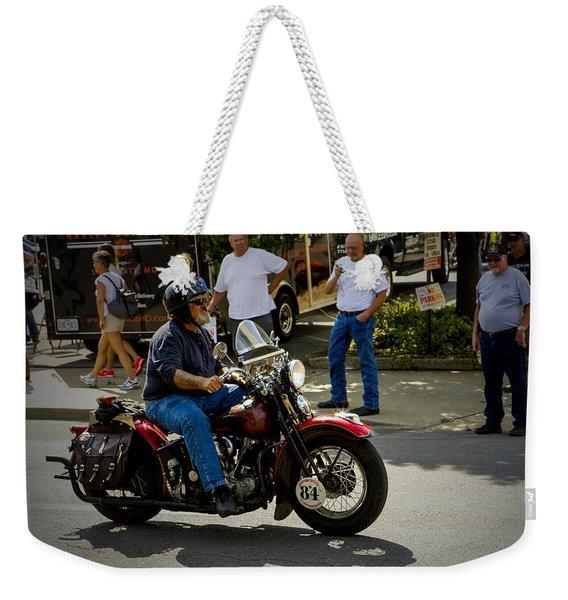 84 Rolls In Weekender Tote Bag