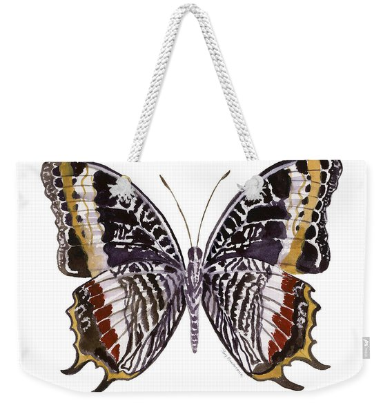 88 Castor Butterfly Weekender Tote Bag