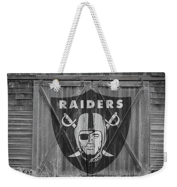 Oakland Raiders Weekender Tote Bag