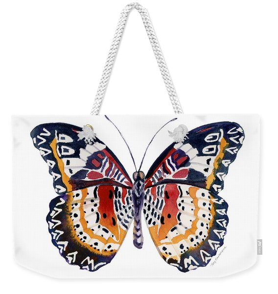 94 Lacewing Butterfly Weekender Tote Bag
