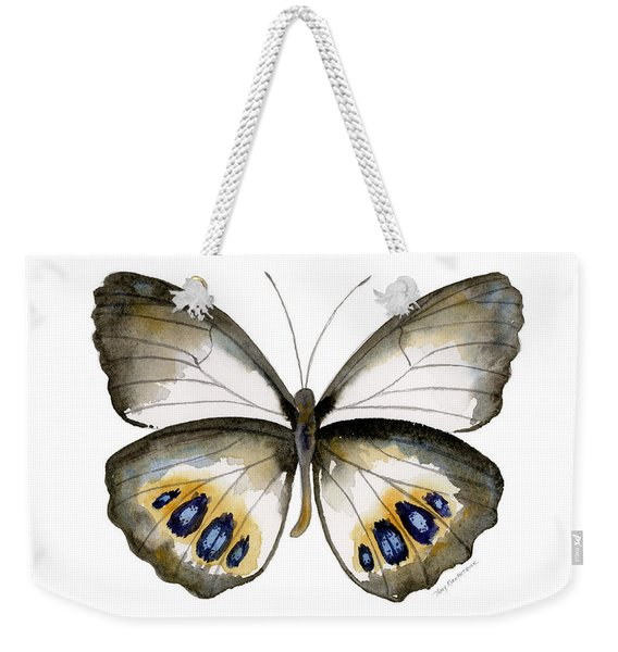 95 Palmfly Butterfly Weekender Tote Bag