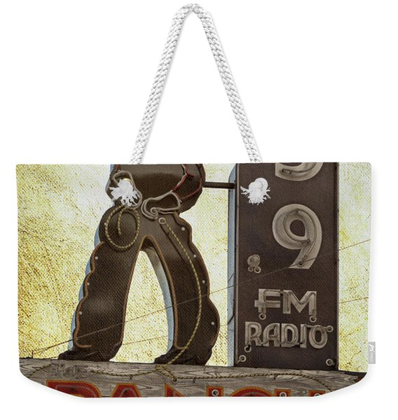 95.9 The Ranch Weekender Tote Bag