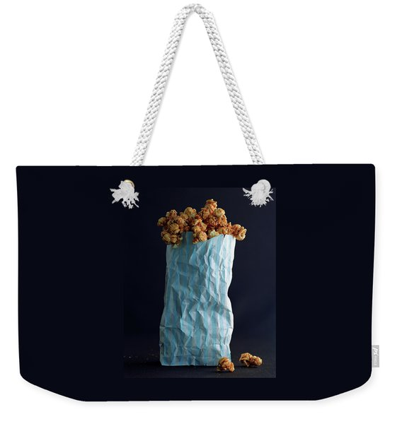 A Bag Of Popcorn Weekender Tote Bag