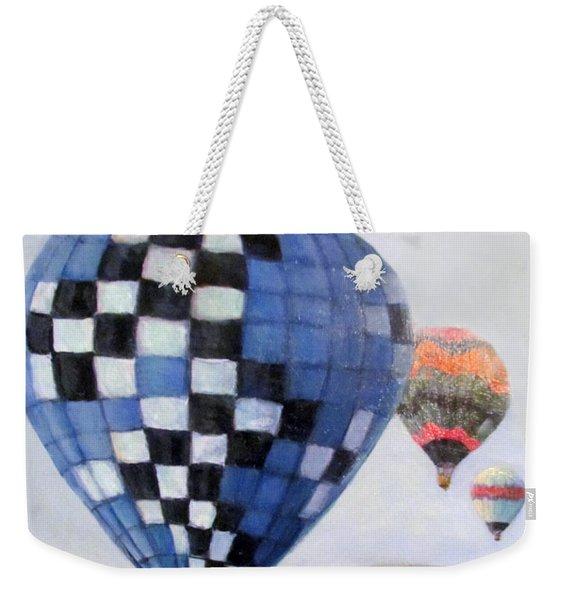 A Balloon Disaster Weekender Tote Bag