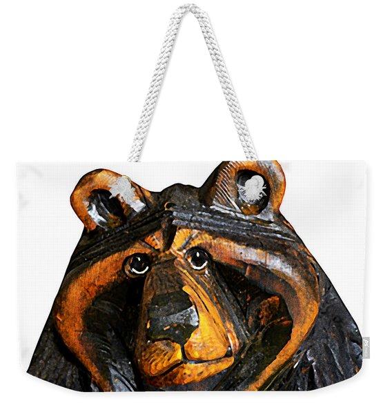 A Bear Expression Weekender Tote Bag