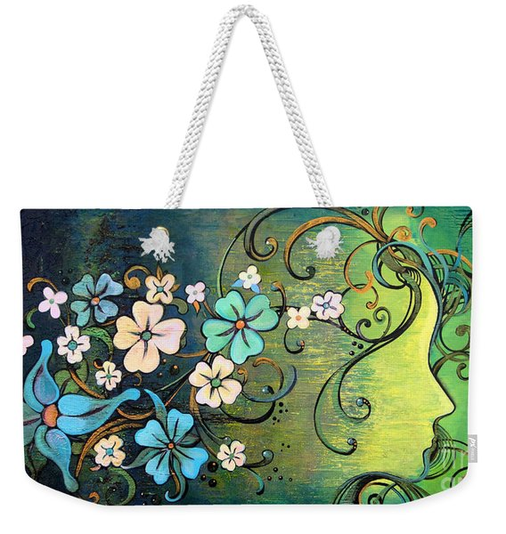 A Beautiful Mind Weekender Tote Bag