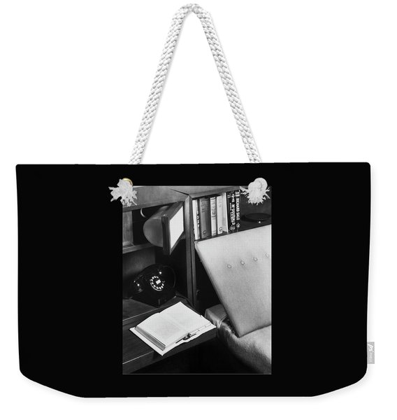 A Bed And A Open Book Weekender Tote Bag