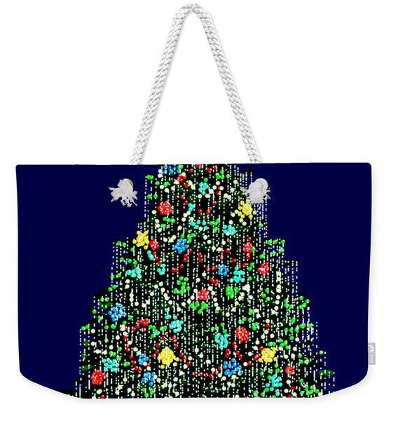 A Bedazzling Christmas Weekender Tote Bag