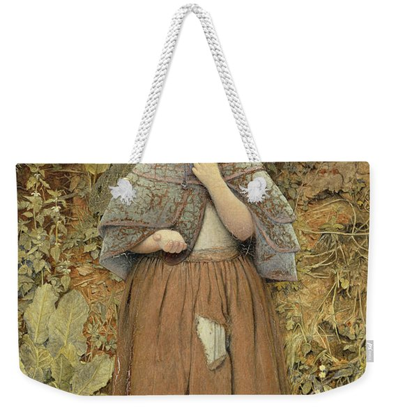 A Beggar On The Path, 1856 Oil On Canvas Weekender Tote Bag