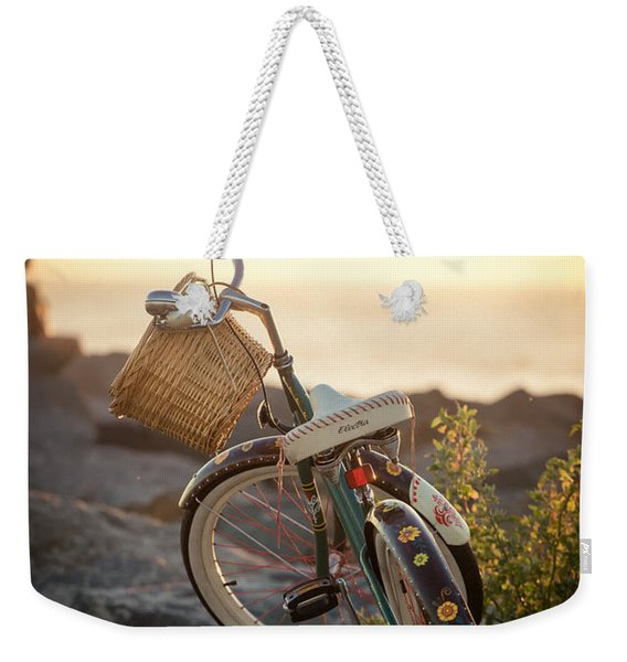 A Bike And Chi Weekender Tote Bag