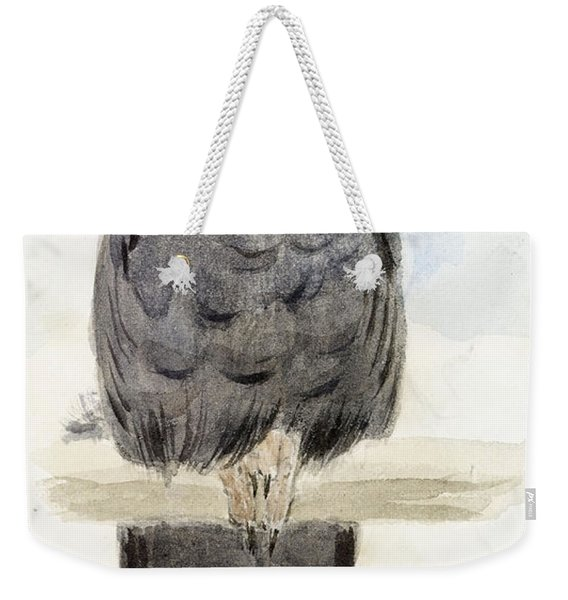 A Black Cockatoo Weekender Tote Bag