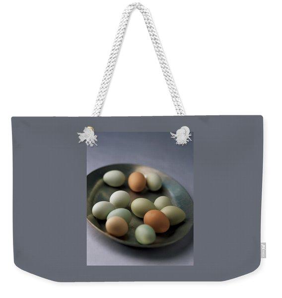 A Bowl Of Eggs Weekender Tote Bag