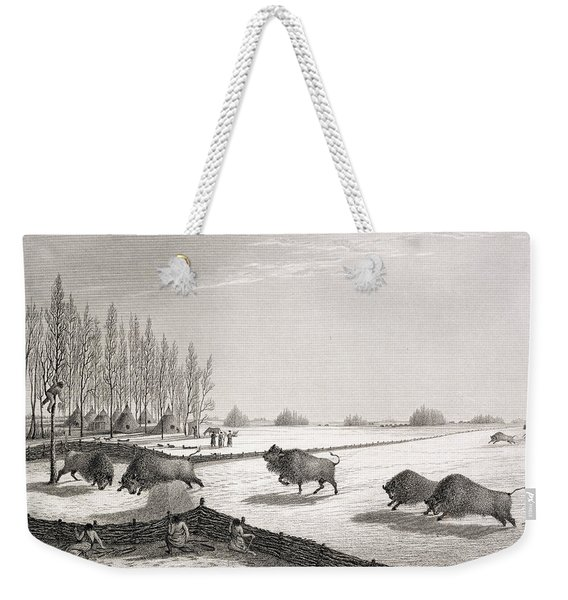 A Buffalo Pound Weekender Tote Bag