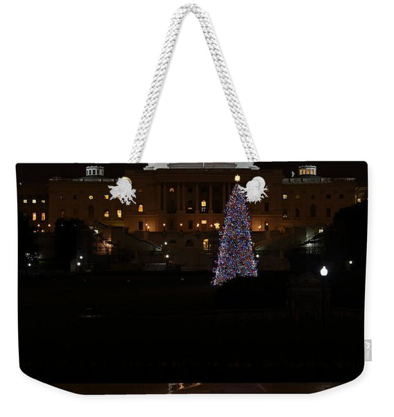 A Capitol Reflection Weekender Tote Bag