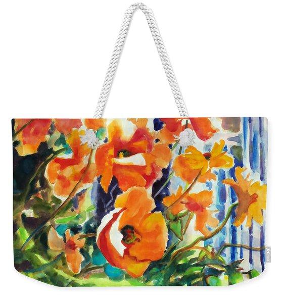 A Choir Of Poppies Weekender Tote Bag