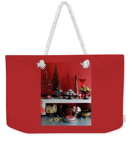 A Christmas Display Weekender Tote Bag