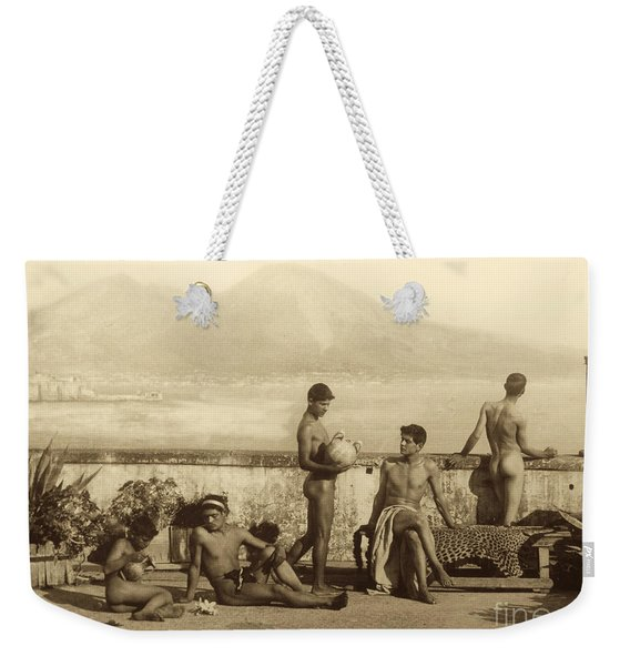 A Classical Scene In Tierra Del Fuego South America Weekender Tote Bag