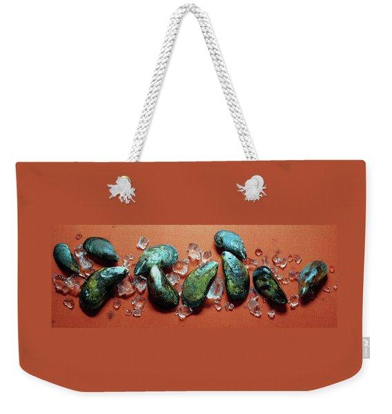 A Cluster Of Mussels Weekender Tote Bag