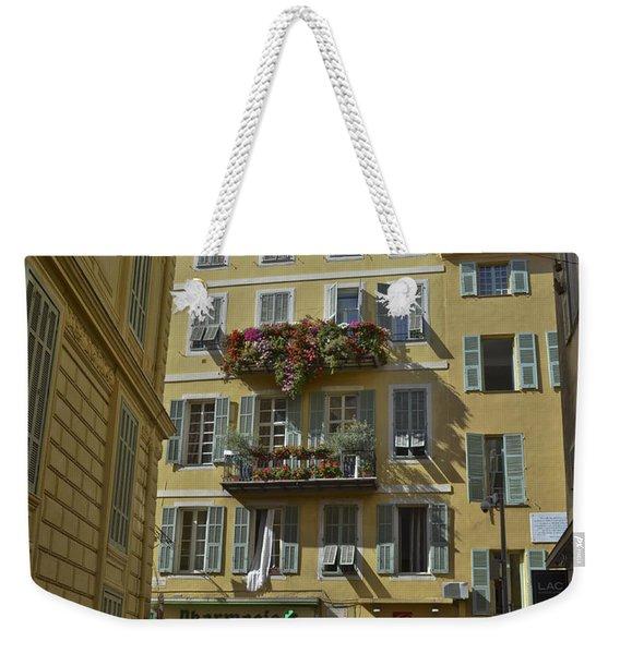 A Corner In Nice Weekender Tote Bag