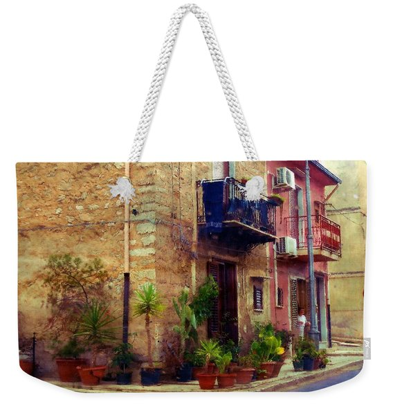 A Corner In Sicily Weekender Tote Bag