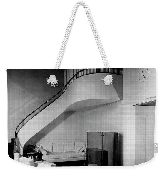 A Corner Staircase Weekender Tote Bag